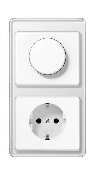 JUNG_SL500_white_dimmer-socket