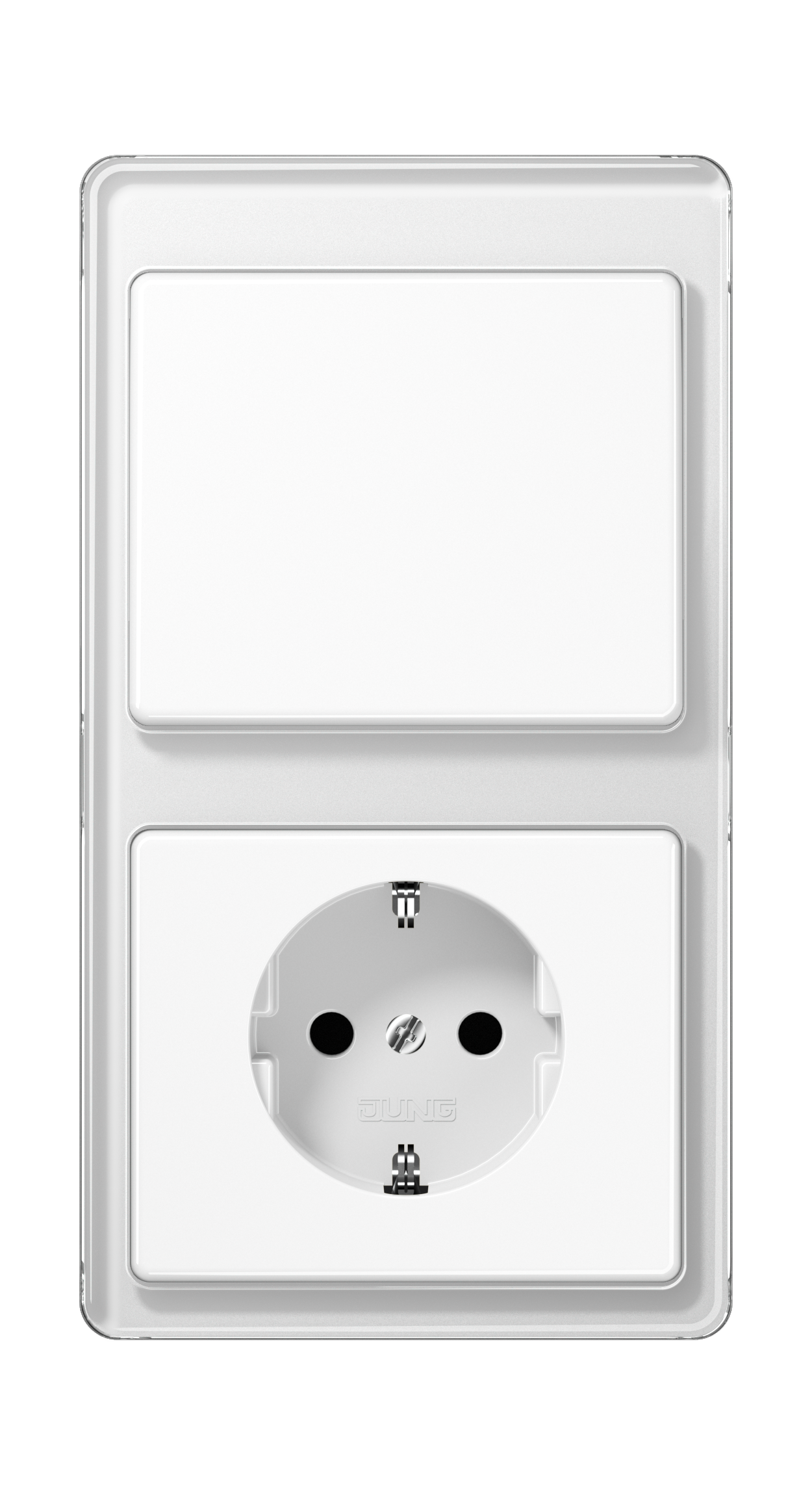 JUNG_SL500_white_switch-socket
