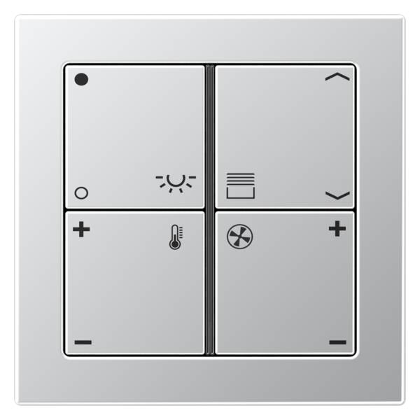 JUNG_Flat_Design_aluminium_4button_symbols