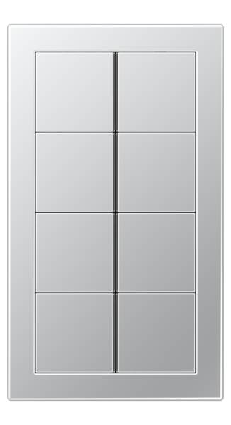 JUNG_Flat_Design_aluminium_8button