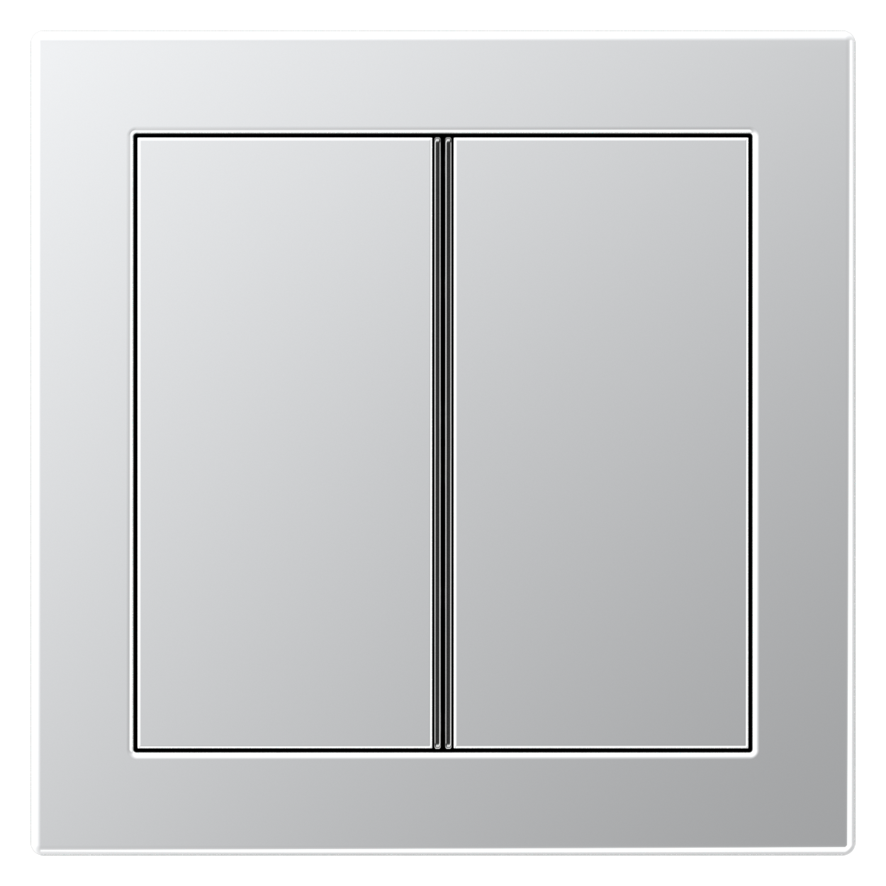 JUNG_Flat_Design_aluminium_2button