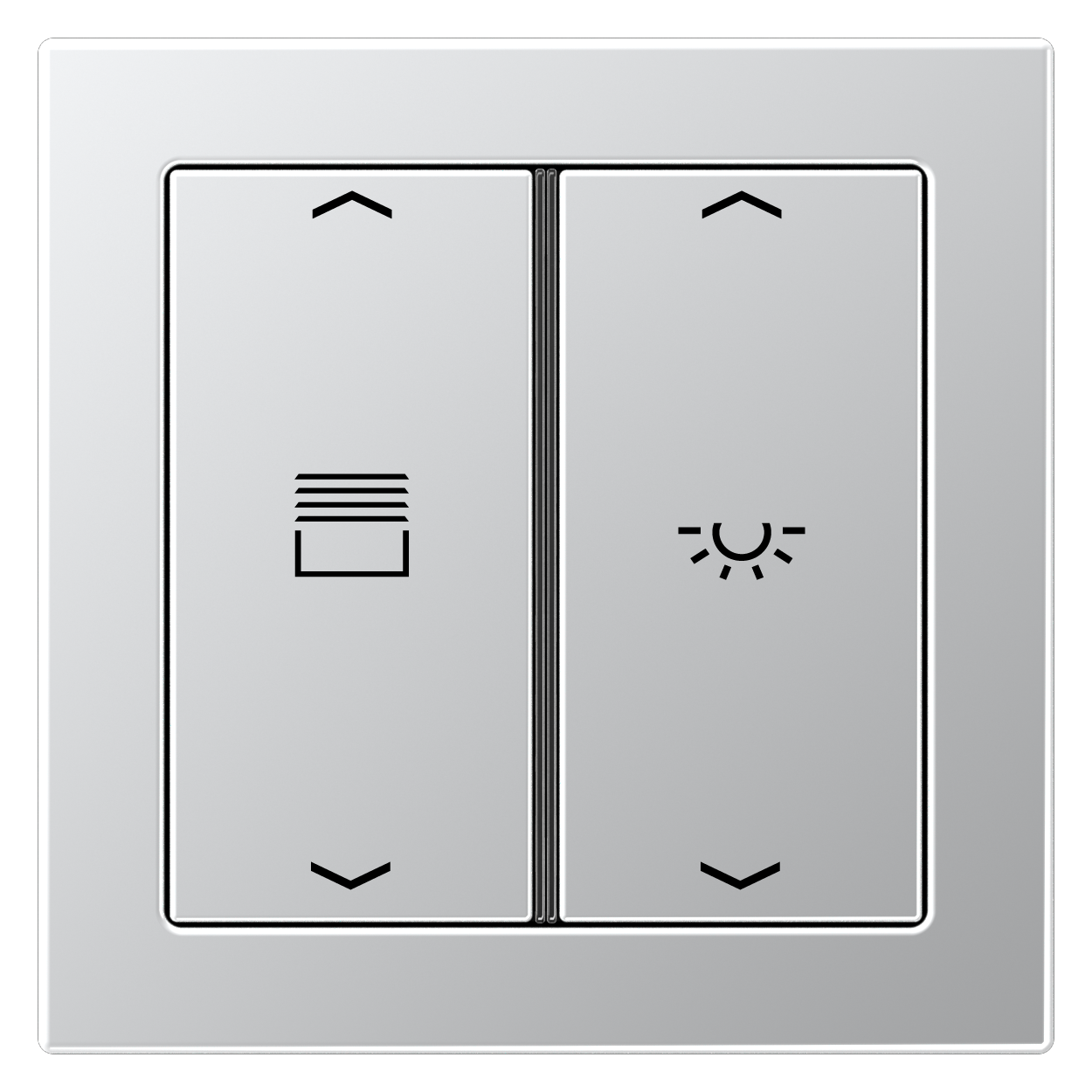 JUNG_Flat_Design_aluminium_2button_symbols