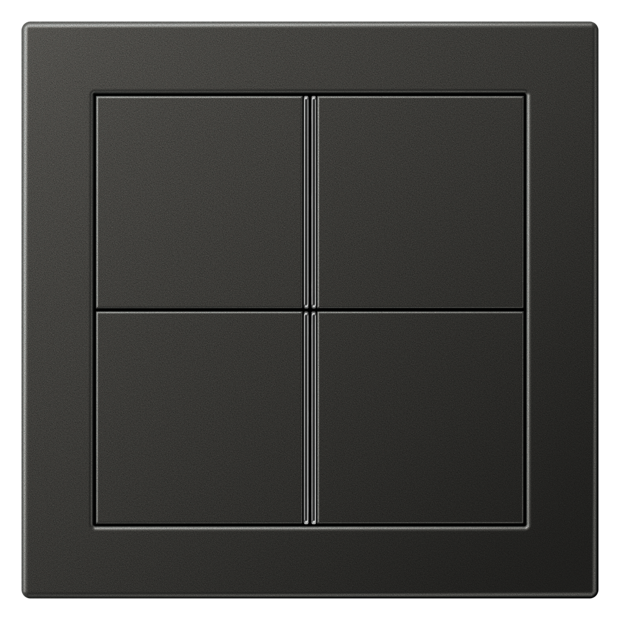 JUNG_Flat_Design_anthracite_4button