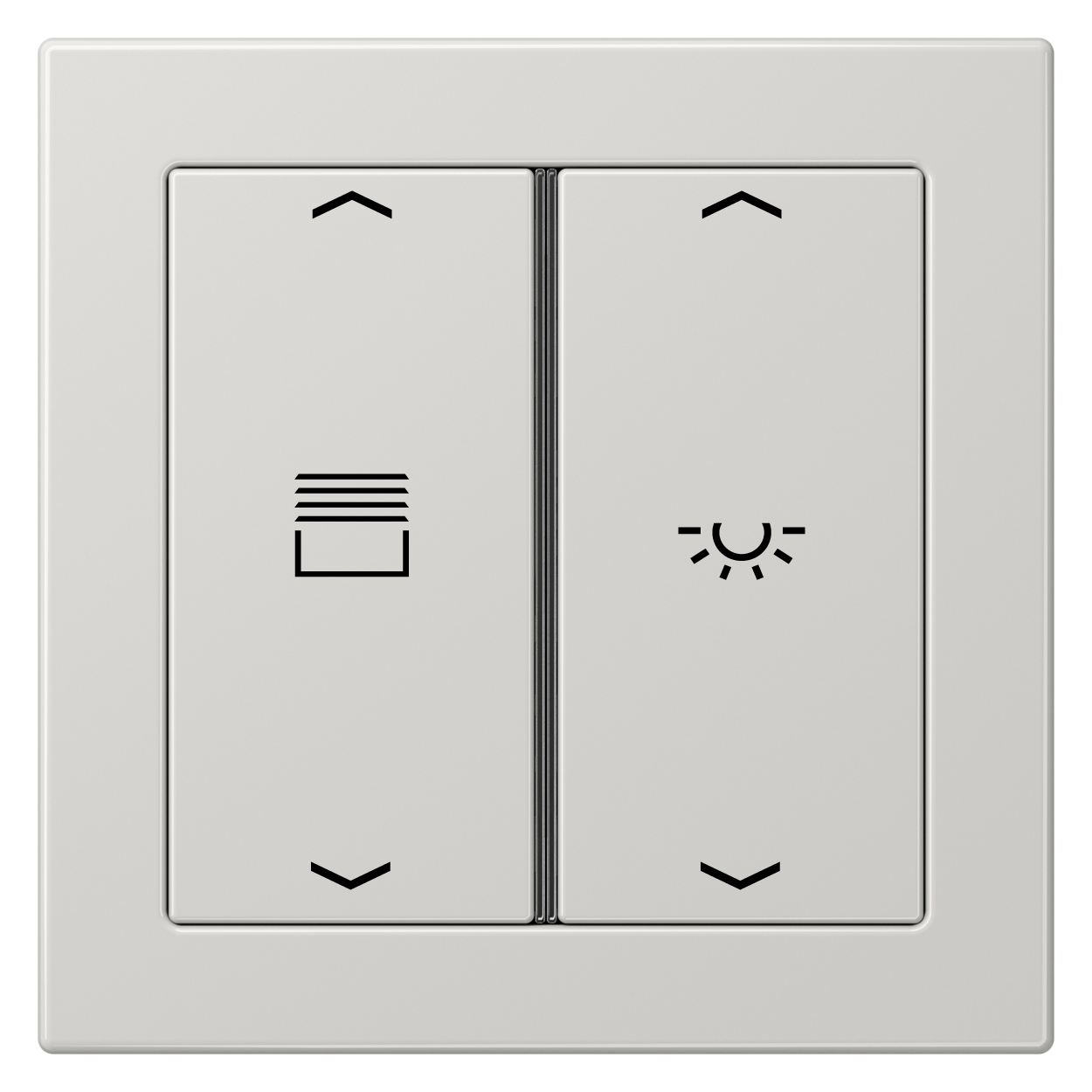 JUNG_Flat_Design_light-grey_2button_symbols