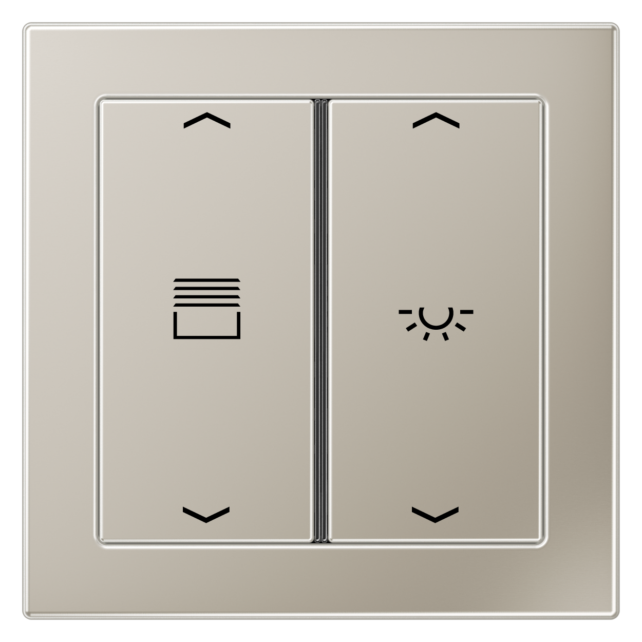 JUNG_Flat_Design_stainless-steel_2button_symbols