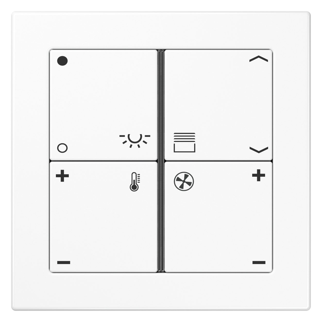 JUNG_Flat_Design_white_4button_symbols