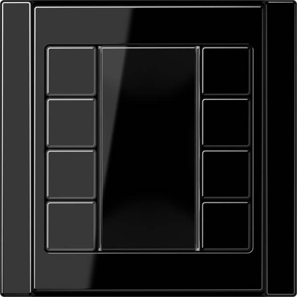 JUNG_A500_black_coloured_F50_4-gang