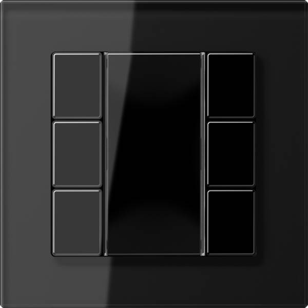 JUNG_AC_GL_black_coloured_F50_3-gang