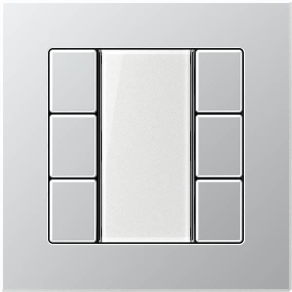 JUNG_AC_aluminium_transparent_F50_3-gang