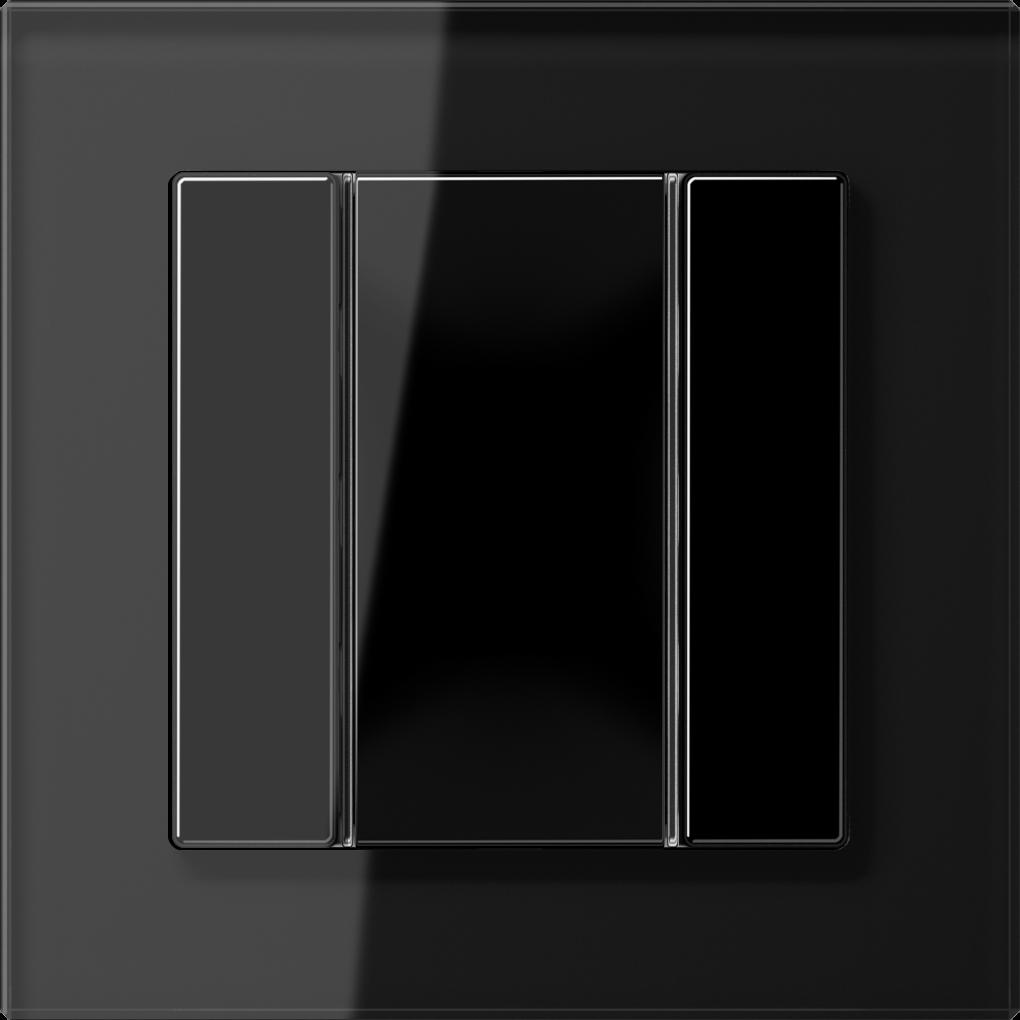 JUNG_AC_GL_black_coloured_F50_1-gang