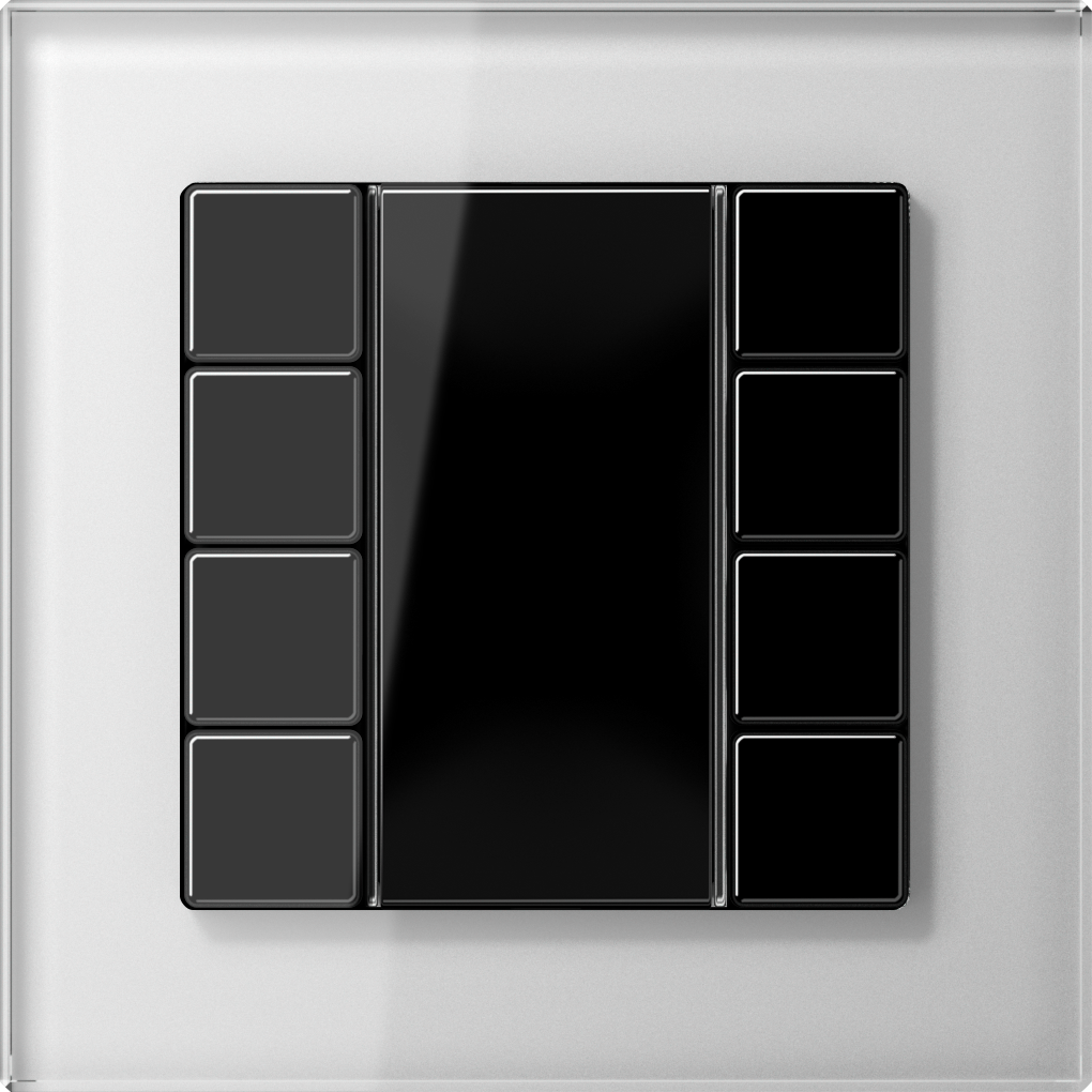 JUNG_AC_GL_white_coloured_F50_4-gang