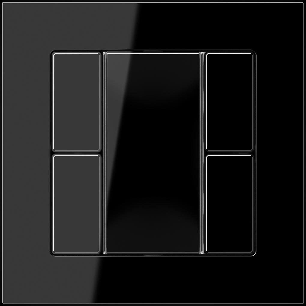 JUNG_AC_black_coloured_F50_2-gang