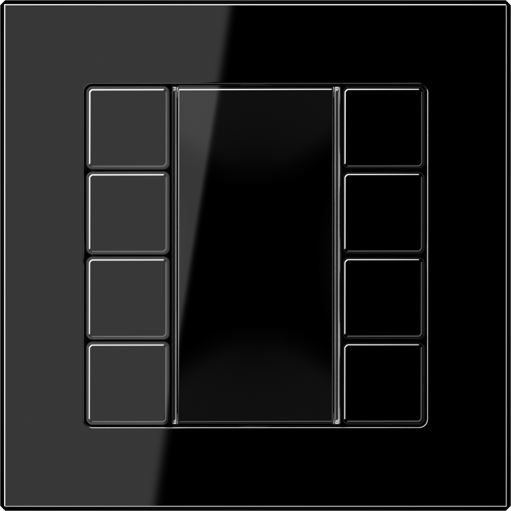 JUNG_AC_black_coloured_F50_4-gang