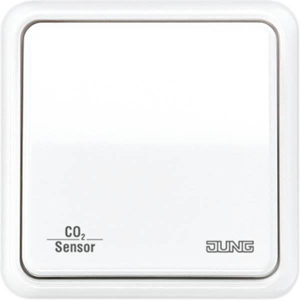 jung co2 sensor knx system technology product images. Black Bedroom Furniture Sets. Home Design Ideas