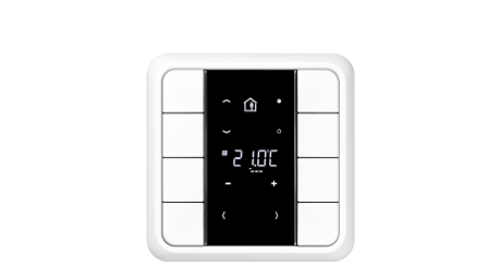 jung f 50 knx compact room controller knx system technology. Black Bedroom Furniture Sets. Home Design Ideas