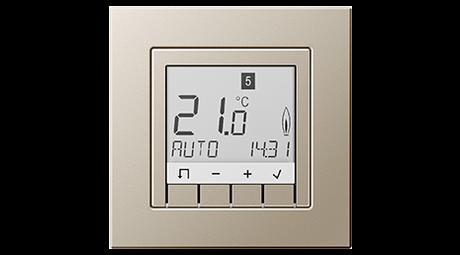 Elektriker, Berlin, Raumtemperaturregler, Temperaturregelung, Temperaturregler, Elektroinstallation, Elektroinstallateur, Elektro, Elektrofirmen, Elektrofirma, Heizung, heizen, Temperatur regeln, automatische Temperaturregelung, Jung Schalterdesign