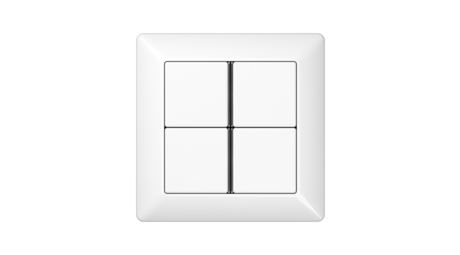 jung enet wandsender f 40 enet smart home technik. Black Bedroom Furniture Sets. Home Design Ideas