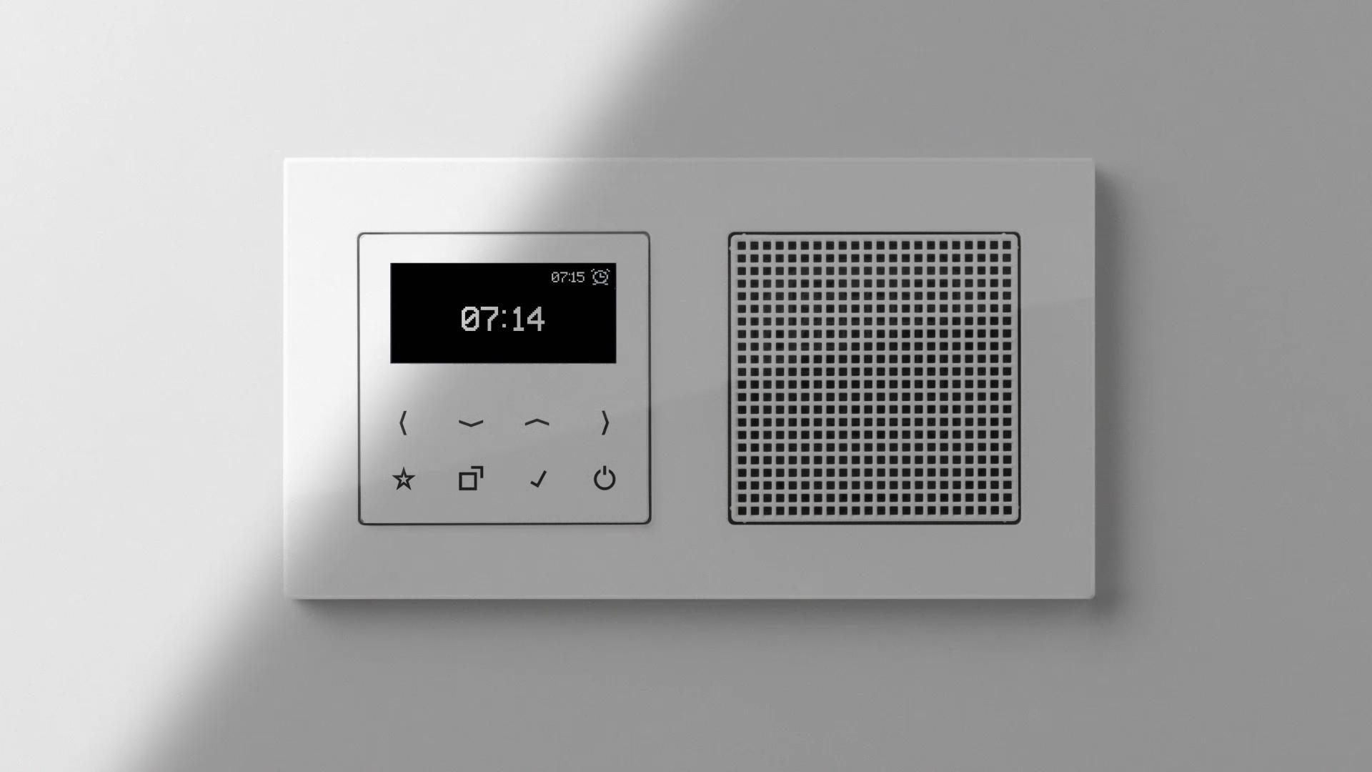 JUNG - Smart Radio DAB+ trifft perfekt den Ton