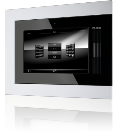 jung knx smart panel display devices technology. Black Bedroom Furniture Sets. Home Design Ideas