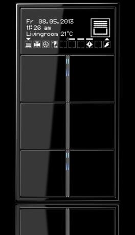 jung knx raumcontroller f 40 knx system technik. Black Bedroom Furniture Sets. Home Design Ideas