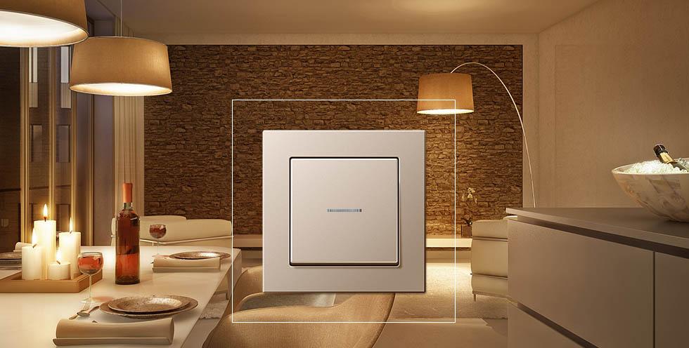 jung receptores enet enet smart home tecnologia. Black Bedroom Furniture Sets. Home Design Ideas