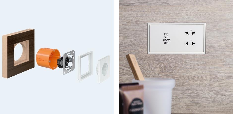 jung ls zero design. Black Bedroom Furniture Sets. Home Design Ideas