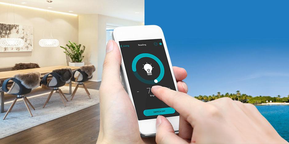 jung enet smart home app enet technology. Black Bedroom Furniture Sets. Home Design Ideas
