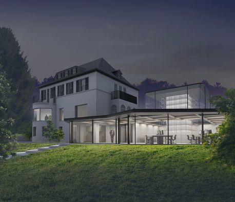 Jung alle entw rfe gr ndervilla architekten - Berghaus architekten ...