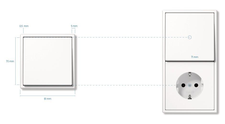 jung der schalter 50 jahre ls 990 design. Black Bedroom Furniture Sets. Home Design Ideas