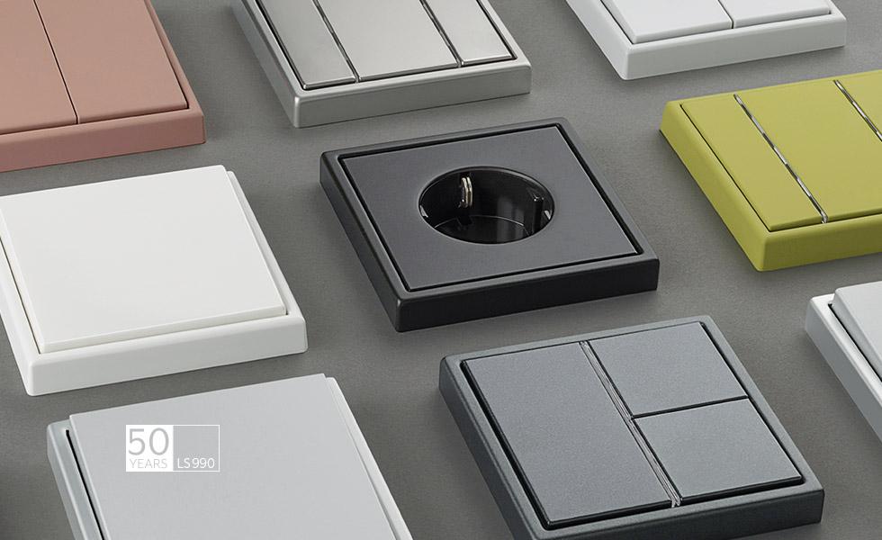JUNG - Die Vielfalt 50 Jahre LS 990 Design